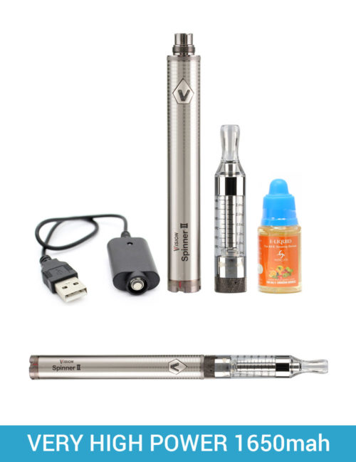 Vision Spinner 2 e cigarette kit bundle