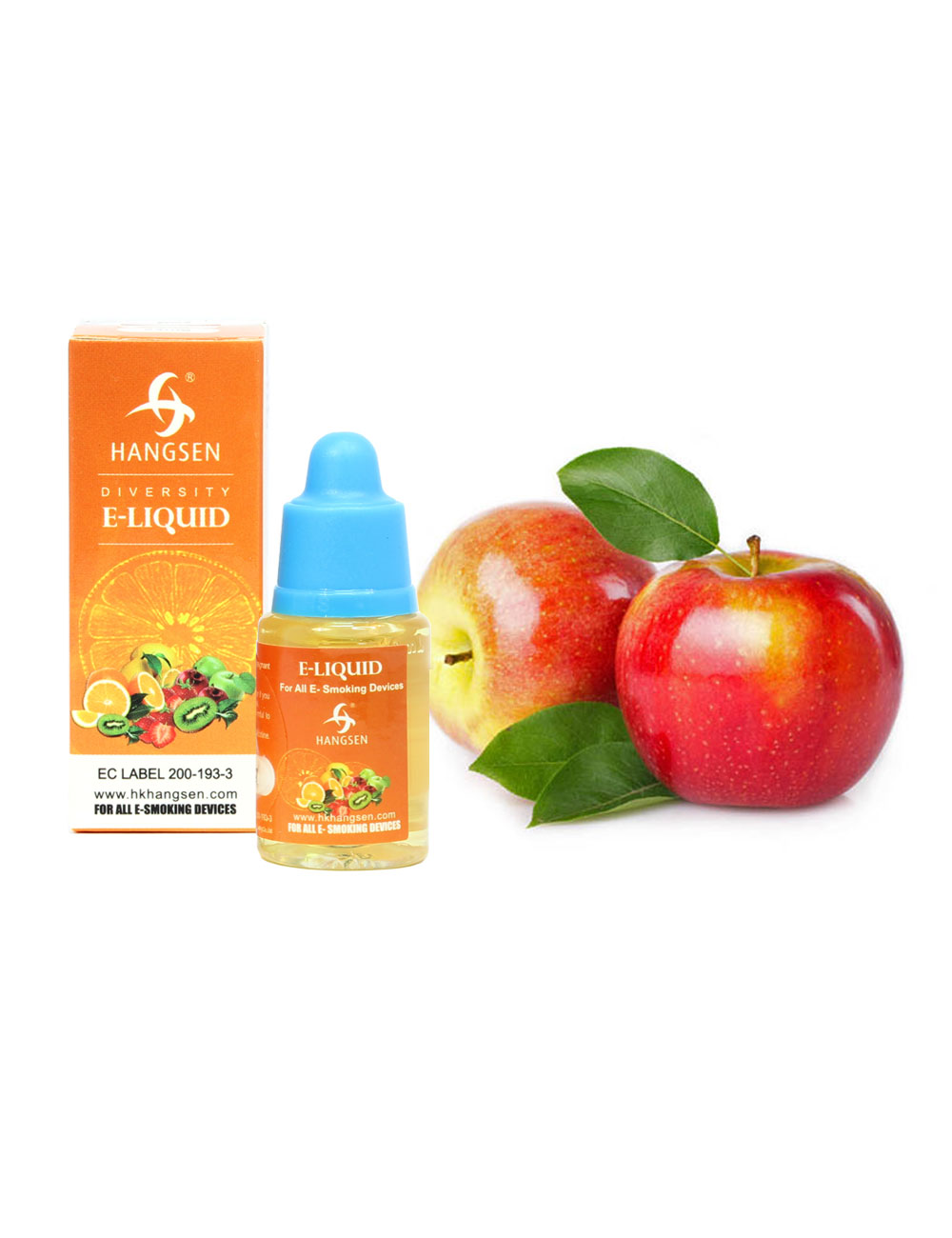 Hangsen 12mg Apple Flavour E liquid 10ml