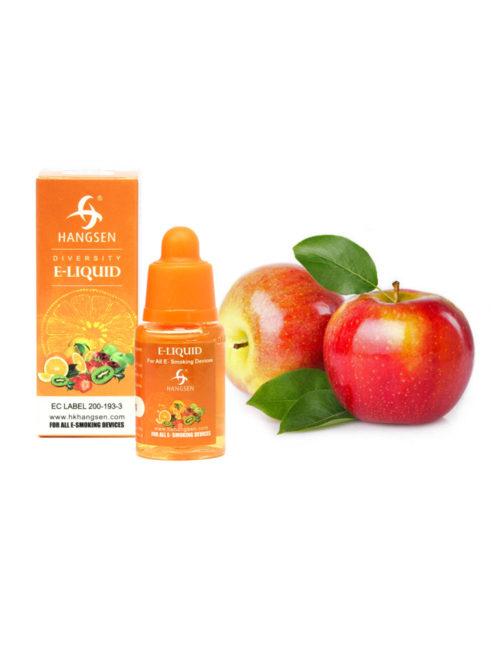 Hangsen 18mg Apple Flavour E liquid 10ml