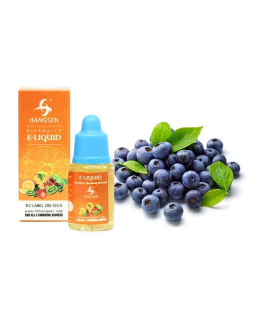 Hangsen 12mg Blueberry Flavour E liquid 10ml