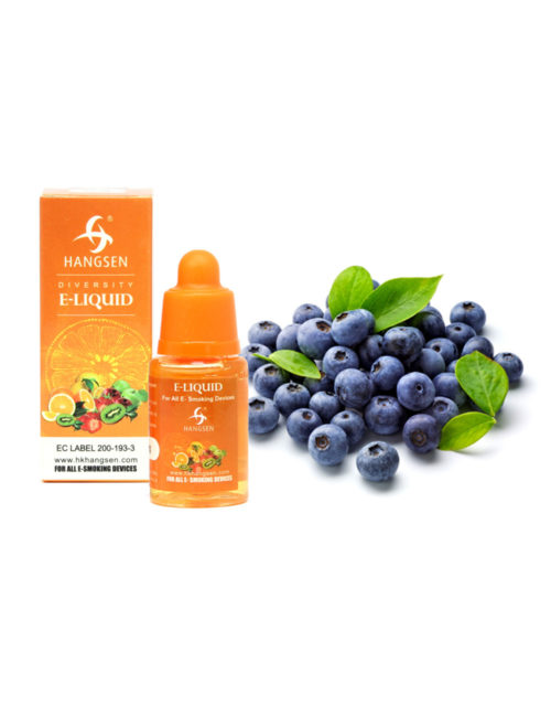 Hangsen 18mg Blueberry Flavour E liquid 10ml