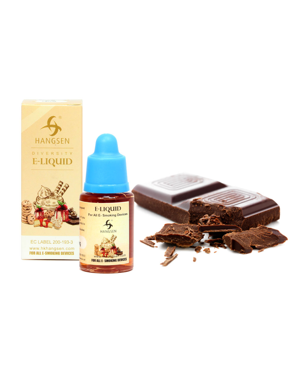 Hangsen 12mg Chocolate Flavour E liquid 10ml