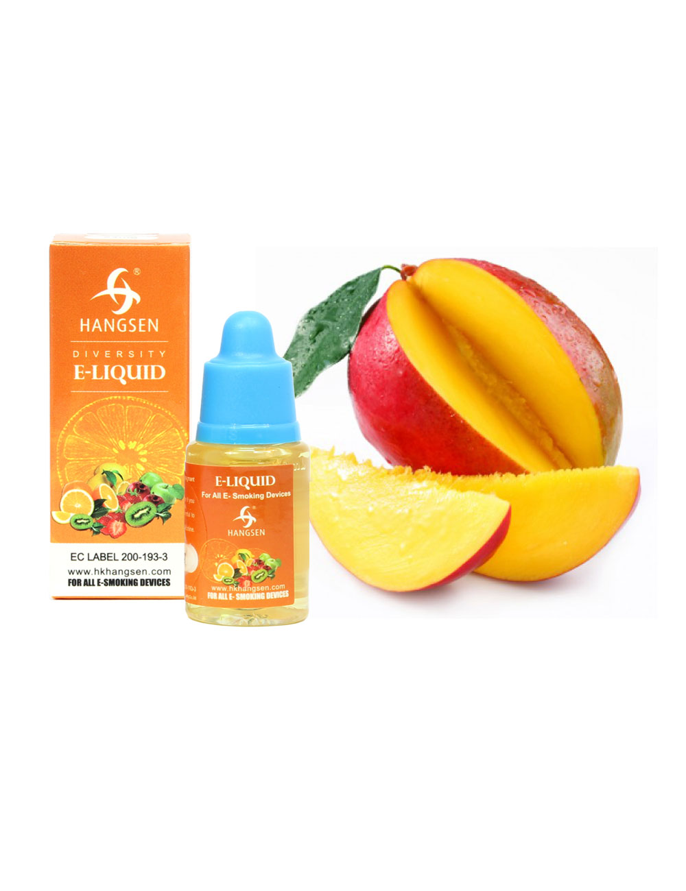 Hangsen 12mg Mango Flavour E liquid 10ml
