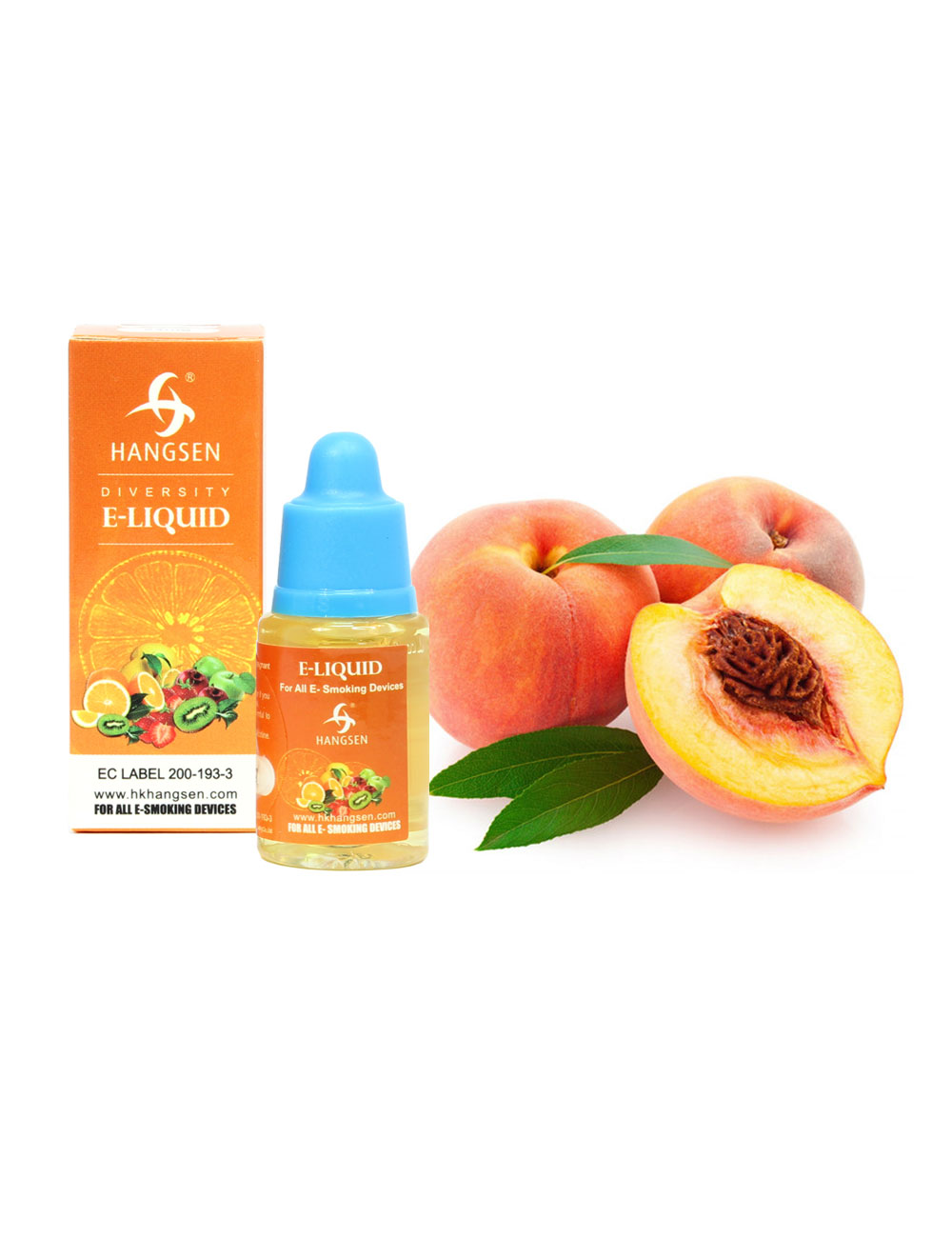 Hangsen 12mg Peach Flavour E liquid 10ml