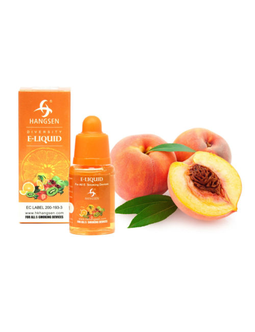 Hangsen 18mg Peach Flavour E liquid 10ml