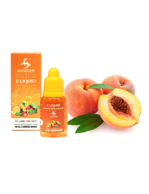Hangsen 24mg Peach Flavour E liquid 10ml